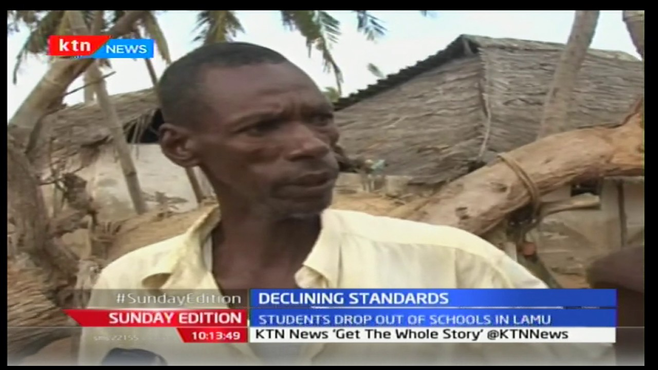 Students drop out of schools in Lamu as education crisis deepens