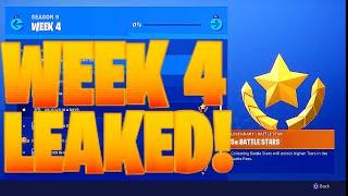 SEASON 9 WEEK 4 CHALLENGES LEAKED - Fortnite Challenges