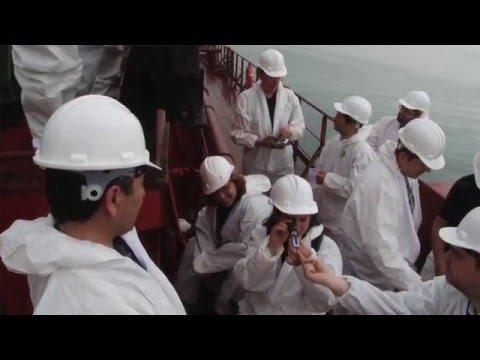Practical training on ballast water sampling and analysis