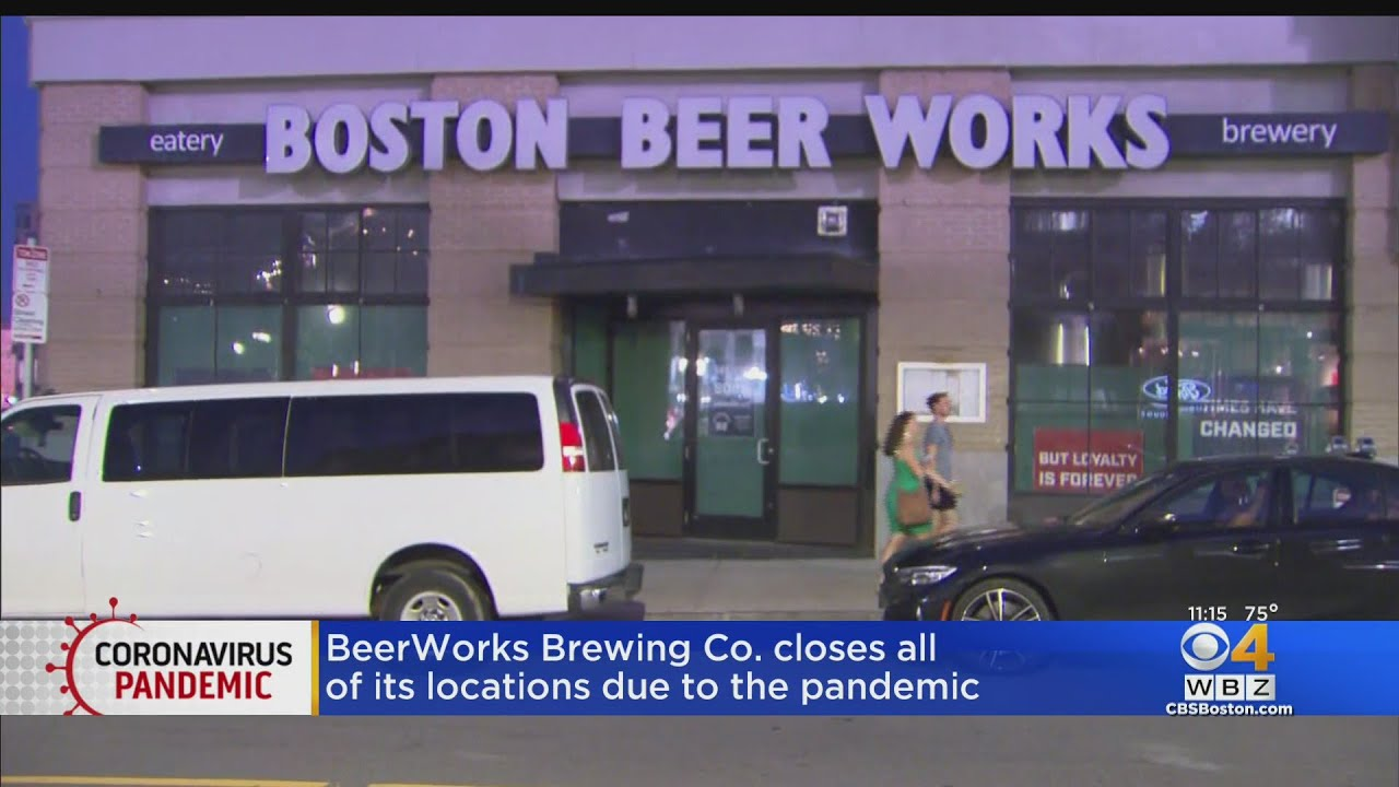 Boston BeerWorks Closes Due To Pandemic