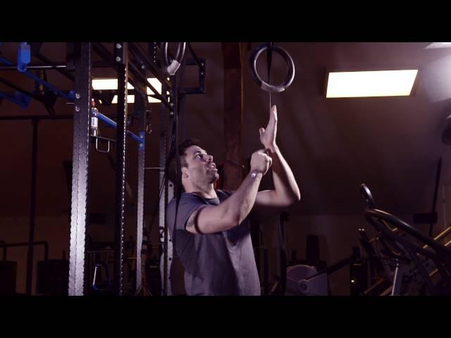 Muscle up i ringer