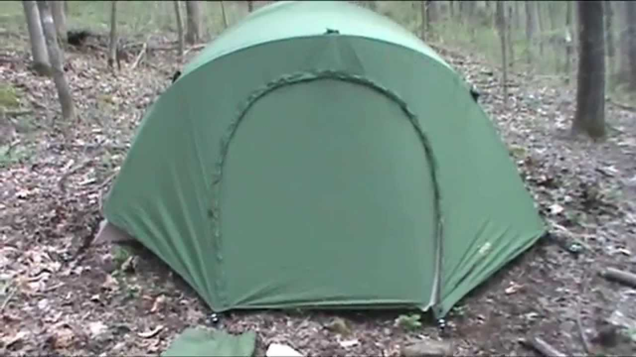 Best tent for C&ing USMC Eureka Combat tent & Best tent for Camping: USMC Eureka Combat tent - YouTube