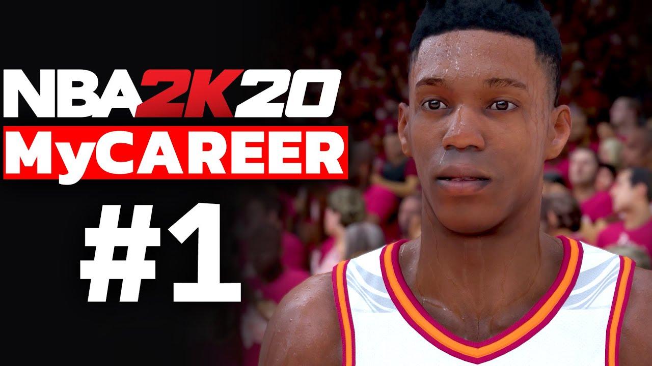 NBA 2K20 MyCAREER TÜRKÇE #1 // GRKN NBA YOLUNDA BAŞLIYOR!!