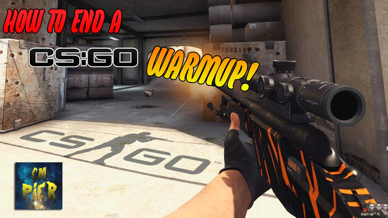 How to end a CS:GO Competitive WARMUP! - byCMPier
