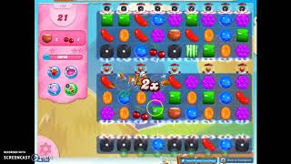 Candy Crush Level 738 Audio Talkthrough, 1 Star 0 Boosters