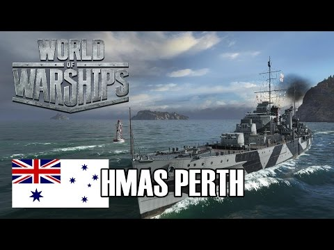 World of Warships - HMAS Perth