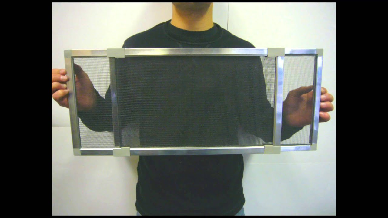 Adjustable Window Screens   YouTube