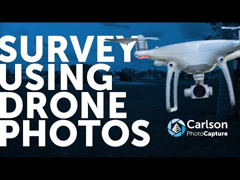 Getting Started with Carlson PhotoCapture | #mappingwithdrones #photogrammetry #dronesurveying