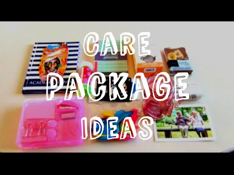 how to diy care package ideas