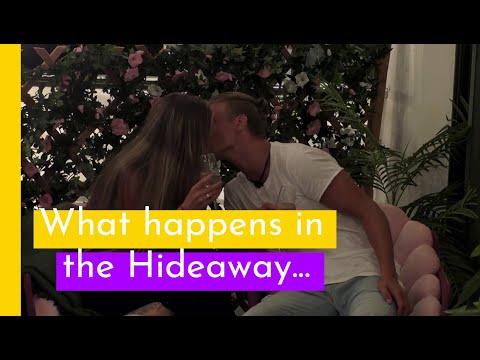 Här hettar det till i Hideaway mellan Niklas och Agnes I Love Island Sverige 2018