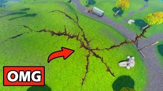 *SECRET* EARTHQUAKE MAP CHANGES! FORTNITE SEASON 7 STORYLINE (DRAGON EGGS MISSING, VOLCANO FORMING)