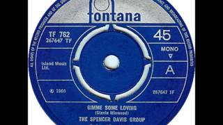 "SPENCER DAVIS GROUP ""Gimme Some Lovin"" 1966  HQ"