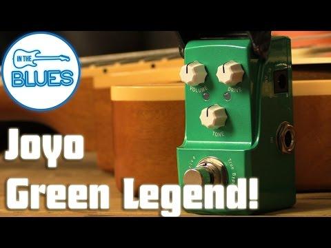 Joyo Green Legend Tubescreamer Pedal