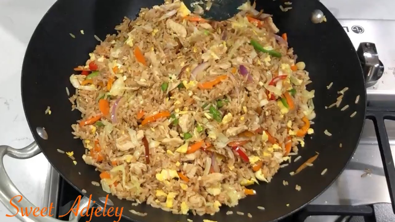 Download Party Pleasing Chicken Fried Rice Recipe