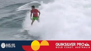 Medina vs. Dantas vs. Lau - Quiksilver Pro Gold Coast 2017 Round One, Heat 4