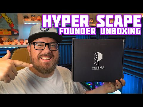 hyper-scape-package-unboxing---ubisoft-sent-me-loot-for-being-a-founder-of-a-new-battle-royale!-#ad