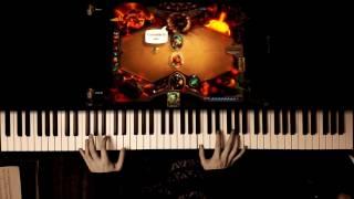 Hearthstone - Main Title (Piano Cover + SHEET MUSIC) #eSport