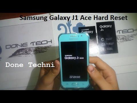 Samsung Galaxy J1 Ace Sm J110f Hard Reset Youtube