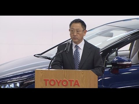 Speech by President Akio Toyoda at Mirai Production Ceremony