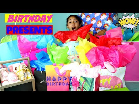 Opening my Birthday Presents!!!!B2cutecupcakes