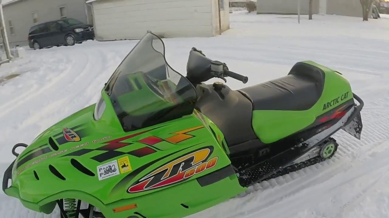 1999 Arctic Cat ZR 500efi