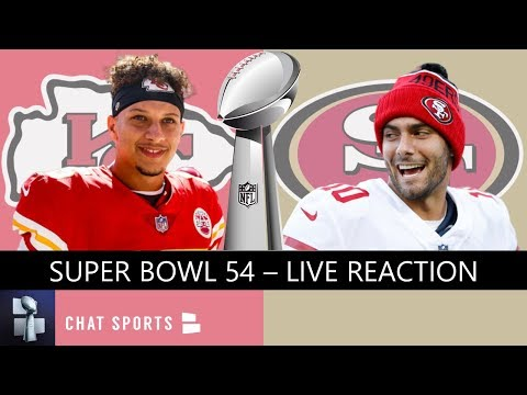 Super Bowl 2020 Live Stream Reaction & Updates On 49ers Vs. Chiefs Highlights & Halftime Show
