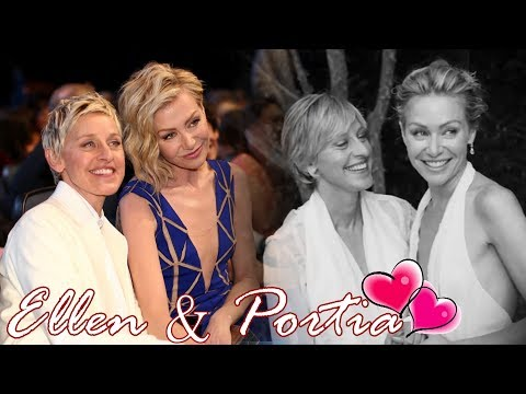 Ellen Degeneres & Portia De Rossi    Best moments together