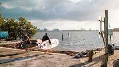 Exploring Tiny Islands in Miami by Paddle Board