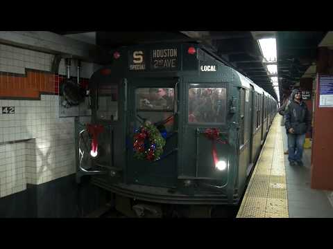 NYC Nostalgia Train Video Narrated by the Voice of the NYC Subway