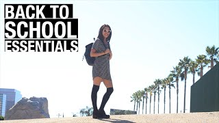 Back to College Essentials (5 Outfits)