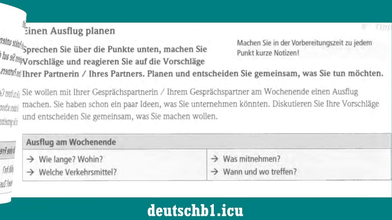 Planen b2 etwas gemeinsam Deutsch B1