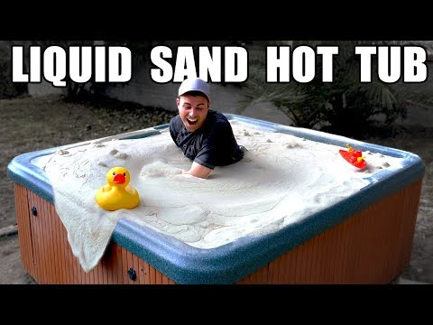 Liquid Sand Hot Tub- Fluidized air bed Mp3
