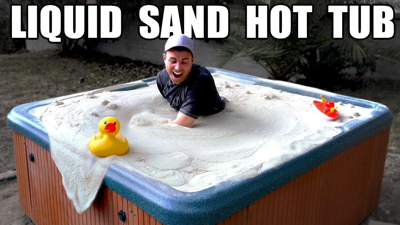 Liquid Sand Hot Tub- Fluidized air bed 1