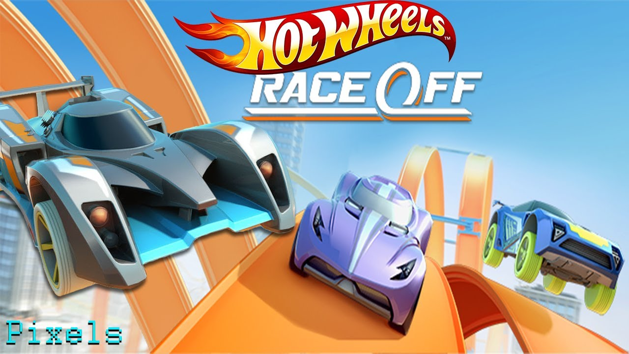 Hot Wheels Race Off All Cars