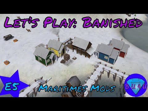 Crisis - Banished | Maritime mods | Let's Play | S1E5