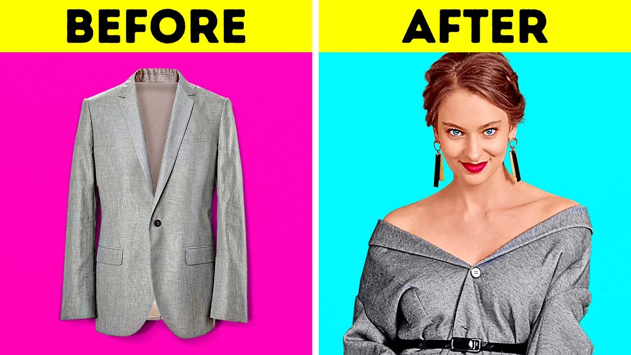 29 CLOTHES TRANSFORMATIONS TO MAKE YOU UNBELIEVABLE