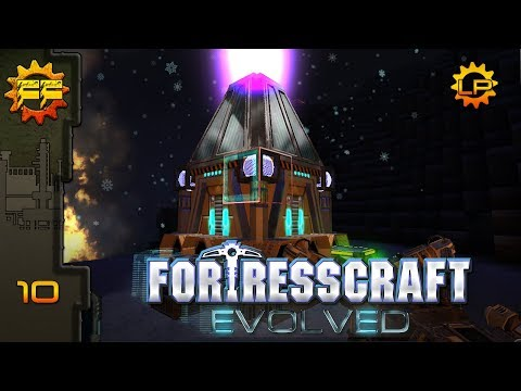 FortressCraft: Evolved - 10 - Automating research! (Gameplay) |