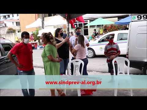 SINDPREV protesta contra assédio moral e perseguição a Servidores do PAM Salgadinho - Julho/2021