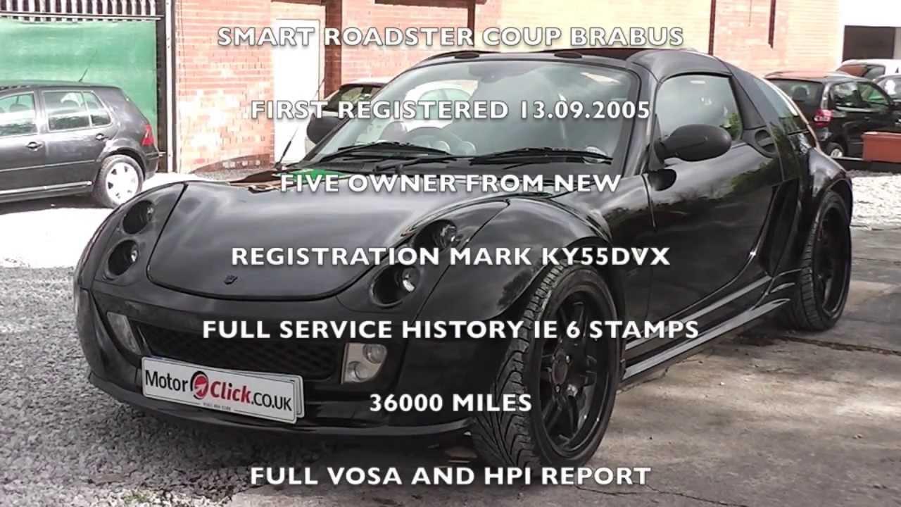 used smart roadster coupe brabus for sale stockport manchester uk youtube. Black Bedroom Furniture Sets. Home Design Ideas