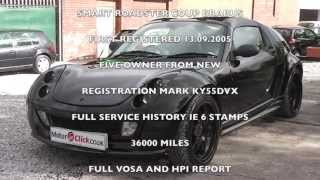used Smart Roadster Coupe Brabus for sale (MotorClick.co.uk) stockport manchester uk