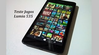 Teste 12 Jogos Pesados Microsoft Lumia 535 / Top Games Windows Phone 8.1