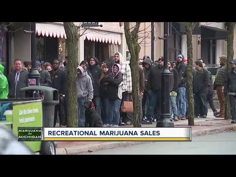 Chad Tyson - First Day Of Legal Recreational Marijuana Sales Top $200k In Michigan