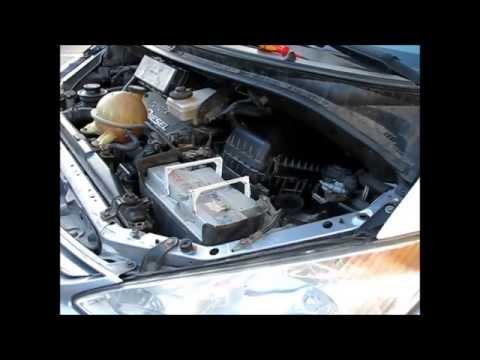 Toyota Previa 2.0 d4d чистка EGR, дроссельной заслонки и ДМРВ