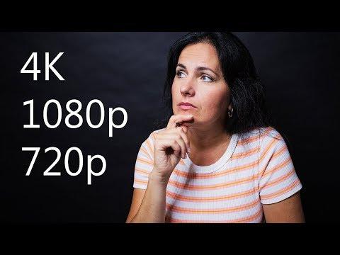 DOES THE SIZE  MATTER 4K VS 1080p VS 720p