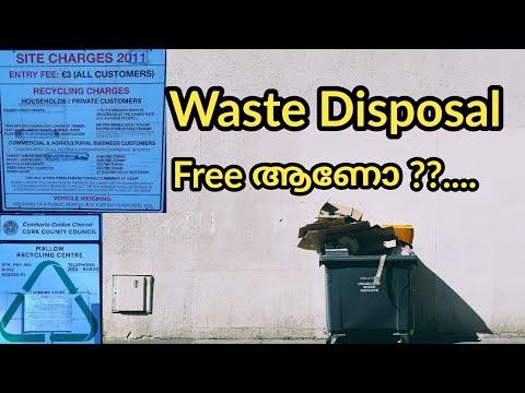 Waste Disposal Free ആണോ??.. / County Council Recycling Unit Mallow ( Malayalam Vlog Ireland)