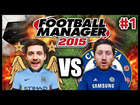 BRO VS BRO #1 - FOOTBALL MANAGER 2015 - FANTASY DRAFT