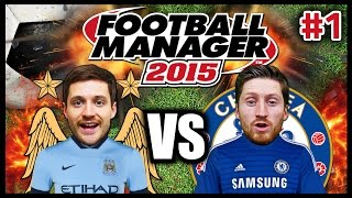 BRO VS BRO #1 - FOOTBALL MANAGER 2015 - FANTASY DRAFT