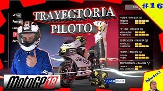 MOTO MEJORADA AL MÁXIMO | TRAYECTORIA PILOTO #16 | GP. ALEMANIA | CIRCUITO SACHSENRING | PS4 PRO