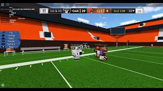 ROBLOX Legendary Football| Browns VS Bills LFL | GameClip|