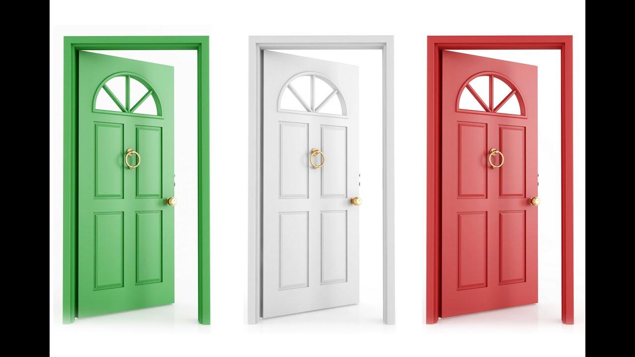 Qu significa so ar con puertas sue o significado for Modelos de puertas de madera para frente
